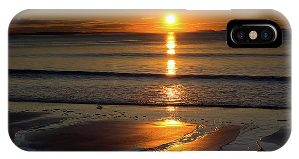 IPhone Case featuring the photograph Ferry Beach Sunrise by Kirkodd Photography Of New England