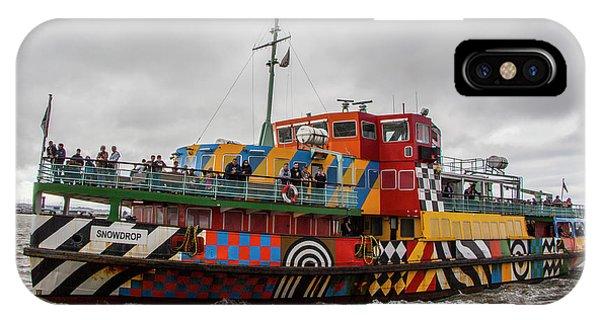 Ferry Cross The Mersey - Razzle Boat Snowdrop IPhone Case