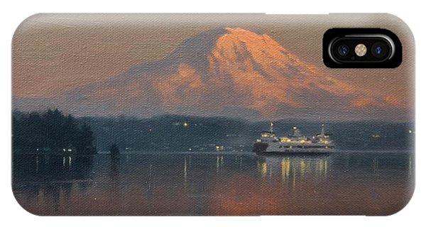 iPhone Case - Ferry Crossing by Ezra Suko