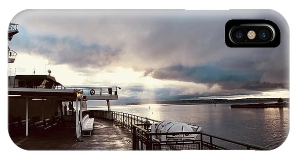Ferry Morning IPhone Case