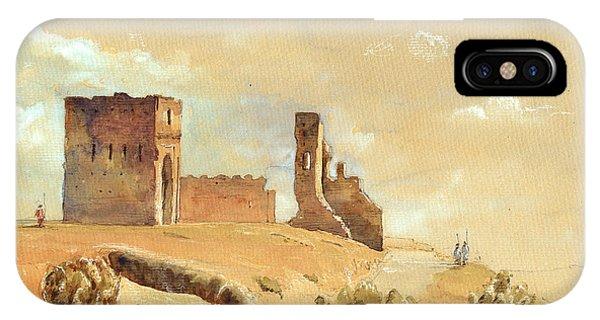 Fes Morocco Orientalist Painting Phone Case by Juan  Bosco