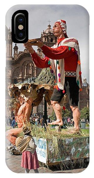 Festival In Cusco IPhone Case