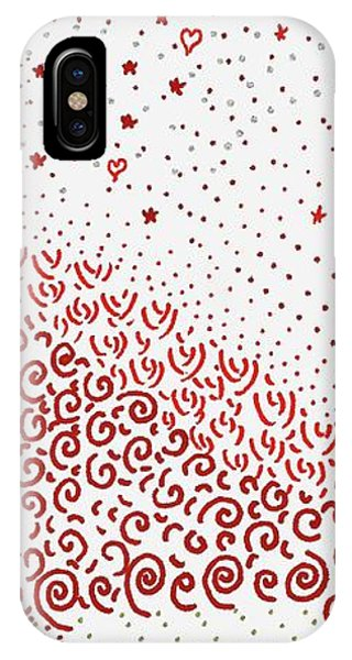 Festival Of Red And Orange IPhone Case