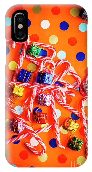 Xmas iPhone Case - Festive Background by Jorgo Photography - Wall Art Gallery