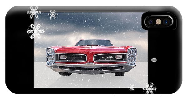 Festive Pontiac Gto IPhone Case