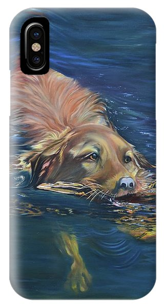 Fetching The Stick IPhone Case