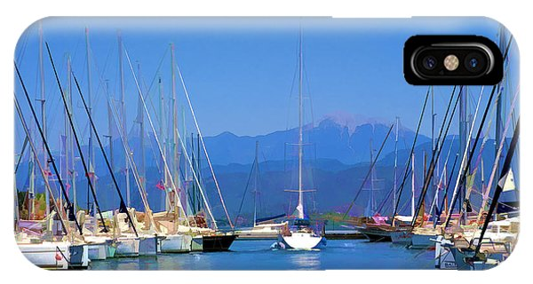 Fethiye Harbour IPhone Case