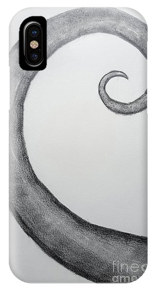 Fibonacci Spiral No.1 IPhone Case