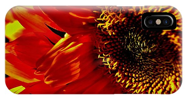 Fickle Sunflower IPhone Case