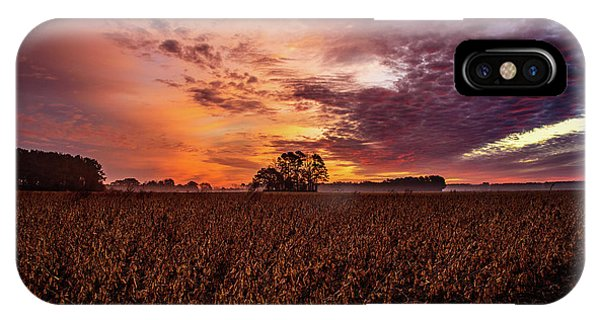 Field Of Beans IPhone Case