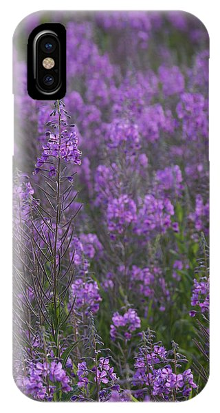 Field Of Fireweed IPhone Case