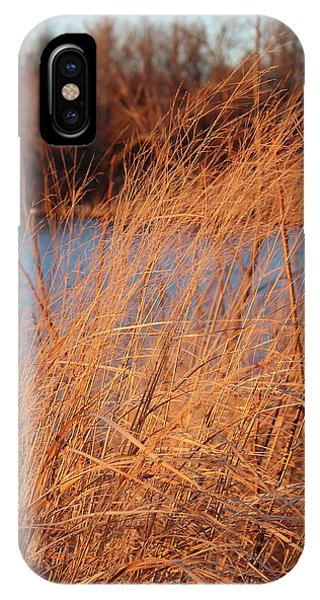 Amber Brush On The River IPhone Case