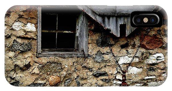Field Stone Barn IPhone Case