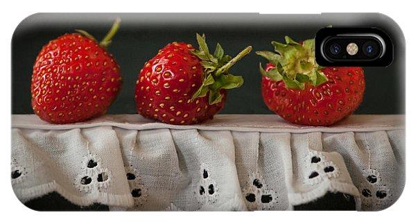 Field Strawberries IPhone Case