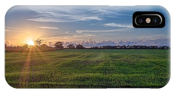 Field Sunset IPhone Case