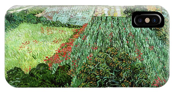 Rural iPhone Case - Field With Poppies by Vincent Van Gogh