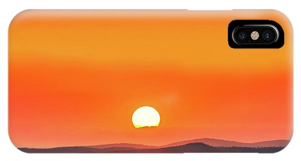 Layer iPhone Case - Fields Of Haze by Az Jackson