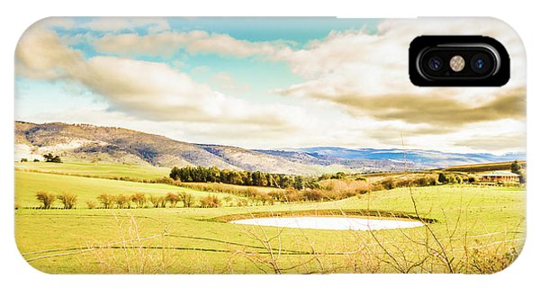 Rural iPhone Case - Fields Of Plenty by Jorgo Photography - Wall Art Gallery