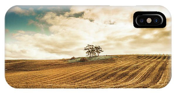 Agriculture iPhone Case - Fields Of Tasmanian Agriculture by Jorgo Photography - Wall Art Gallery