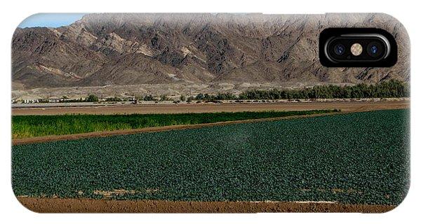 Fields Of Yuma IPhone Case