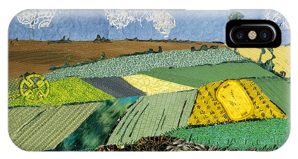 Fields To Gogh IPhone Case