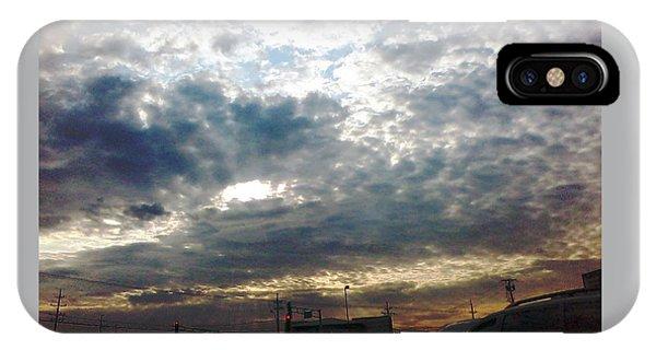 Fierce Skies IPhone Case