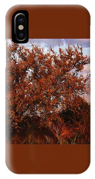Fiery Elm Tree  IPhone Case