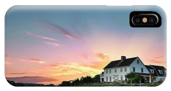 Scenic New England iPhone Case - Fiery Embrace by Evelina Kremsdorf