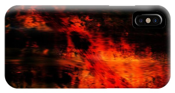 Endless iPhone Case - Fiery End by Dan Sproul