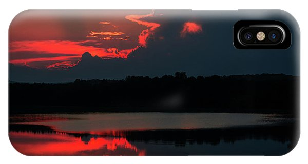 Fiery Evening IPhone Case