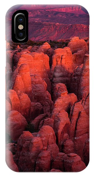 IPhone Case featuring the photograph Fiery Furnace by Dustin LeFevre