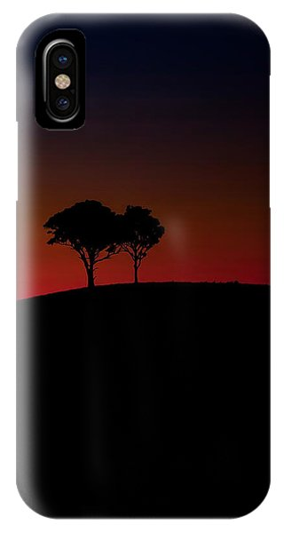 Hunting iPhone Case - Dancing In The Dark by Az Jackson