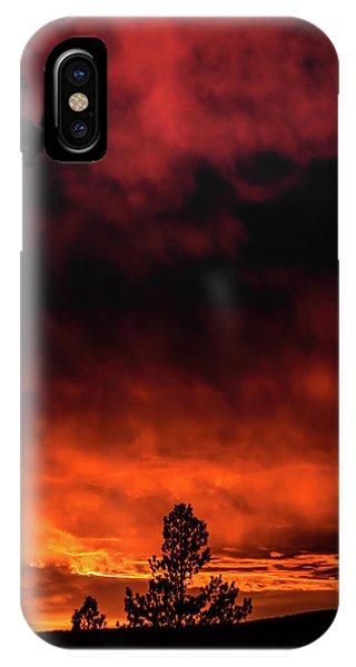 Fiery Sky IPhone Case