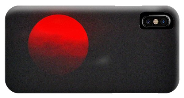 IPhone Case featuring the photograph Fiery Sun by AJ Schibig