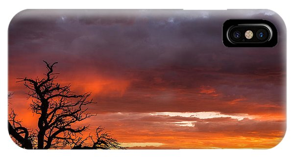 Fiery Sunset IPhone Case
