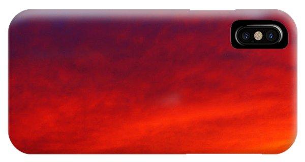 Fiery Vortex IPhone Case