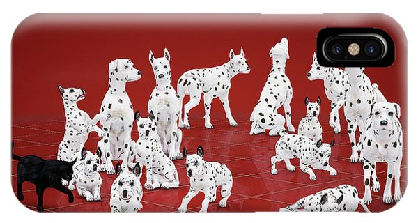 Fifteen Dalmations IPhone Case