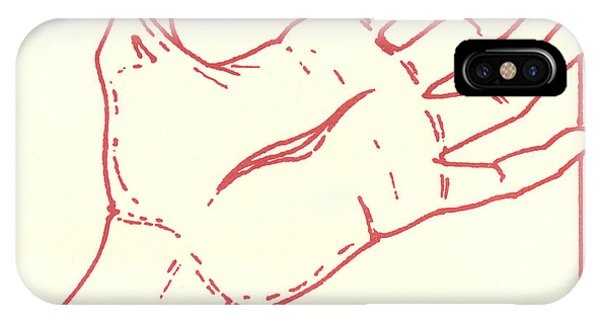 IPhone Case featuring the drawing Fifteenth Station- Jesus Rises From The Dead by William Hart McNichols