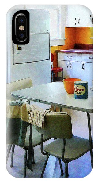 Fifties Kitchen IPhone Case