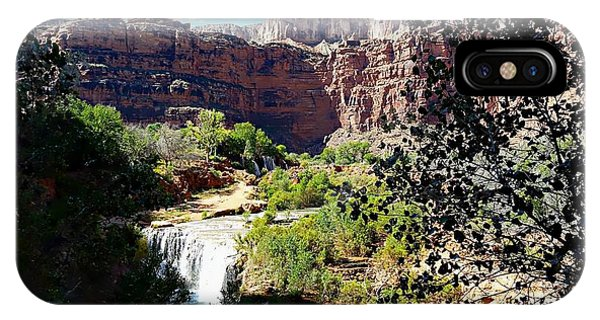 Fifty Falls And Havasupai Falls Havasupai Indian Reservation IPhone Case