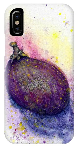 IPhone Case featuring the painting Fig by Ashley Kujan