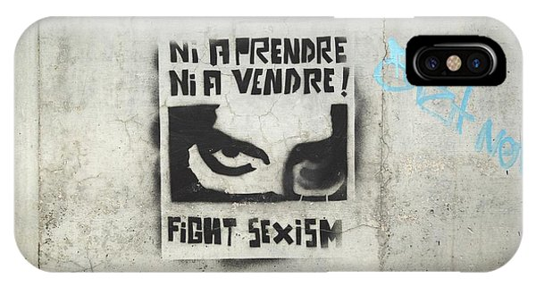 Fight Sexism IPhone Case