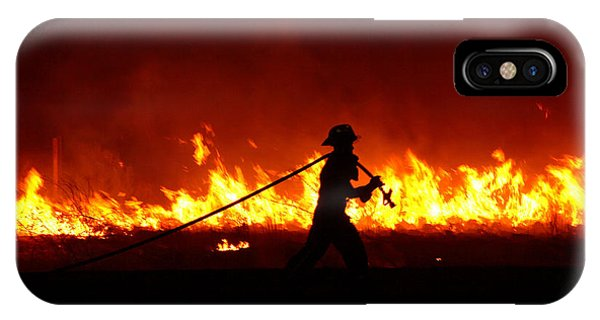 Fighting The Fire IPhone Case