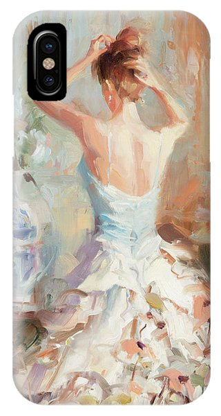 Elegant iPhone Case - Figurative II by Steve Henderson