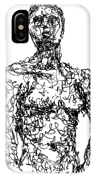 Figures iPhone Case - Figure by Sam Sidders