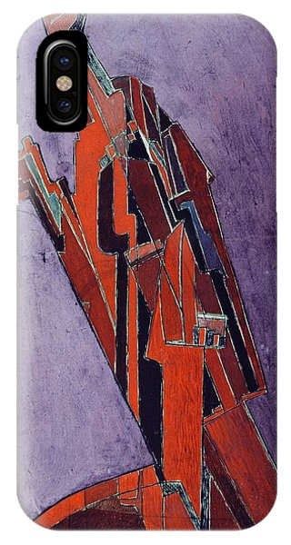 Figures iPhone Case - Figure Study Design For Sculpture by Lawrence Atkinson