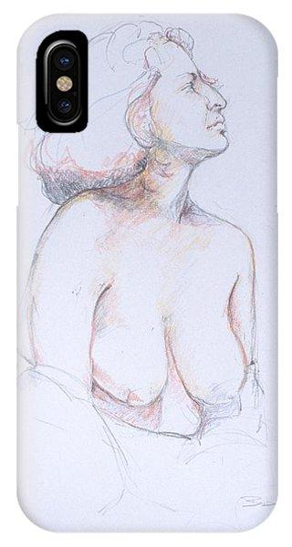 Figure Study Profile 1 IPhone Case