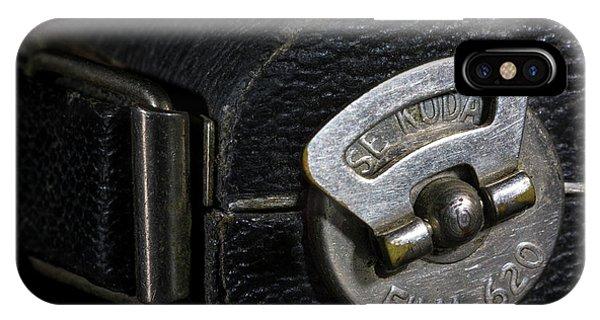 Vintage Camera iPhone Case - Film 620 by Tom Mc Nemar