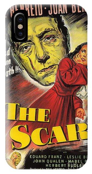Film Noir Poster  The Scar IPhone Case