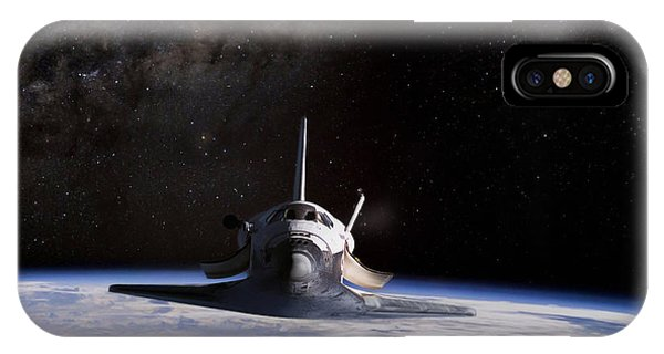 Kennedy Space Center iPhone Case - Final Frontier by Peter Chilelli